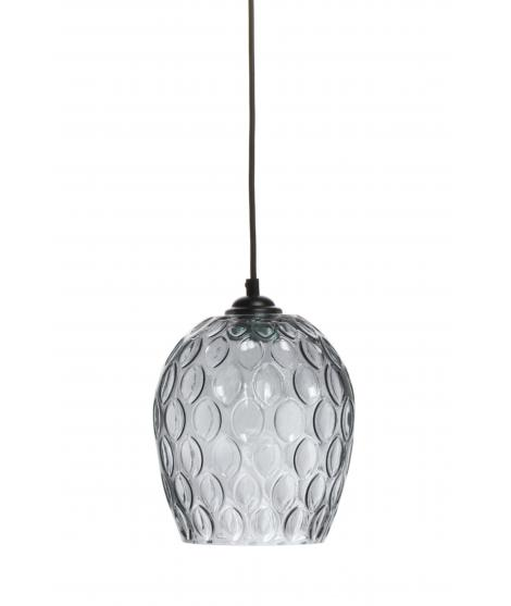 Lampe à suspension corona gris