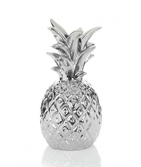 Bougeoir Pineapple 110 argent
