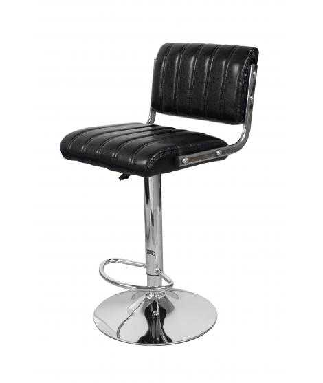 Tabouret de bar Midnight 725, lot de 2 noir
